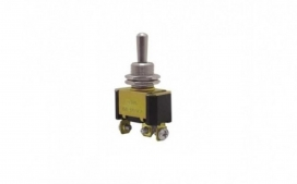 Interruptor de Alavanca Met�lica Unipolar Liga/Desl./Liga 15A