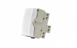 Interruptor Bipolar Simples de 10A- Branco