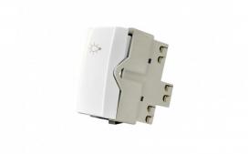 Interruptor Pulsador Minuteria 2A - Branco