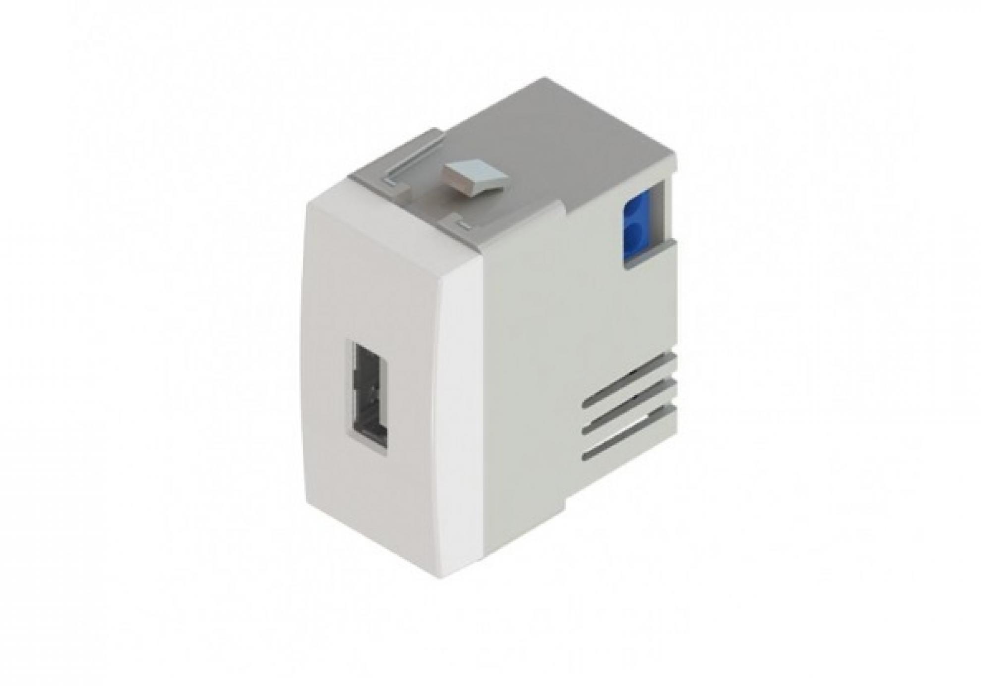 Tomada Carregador USB - Branco