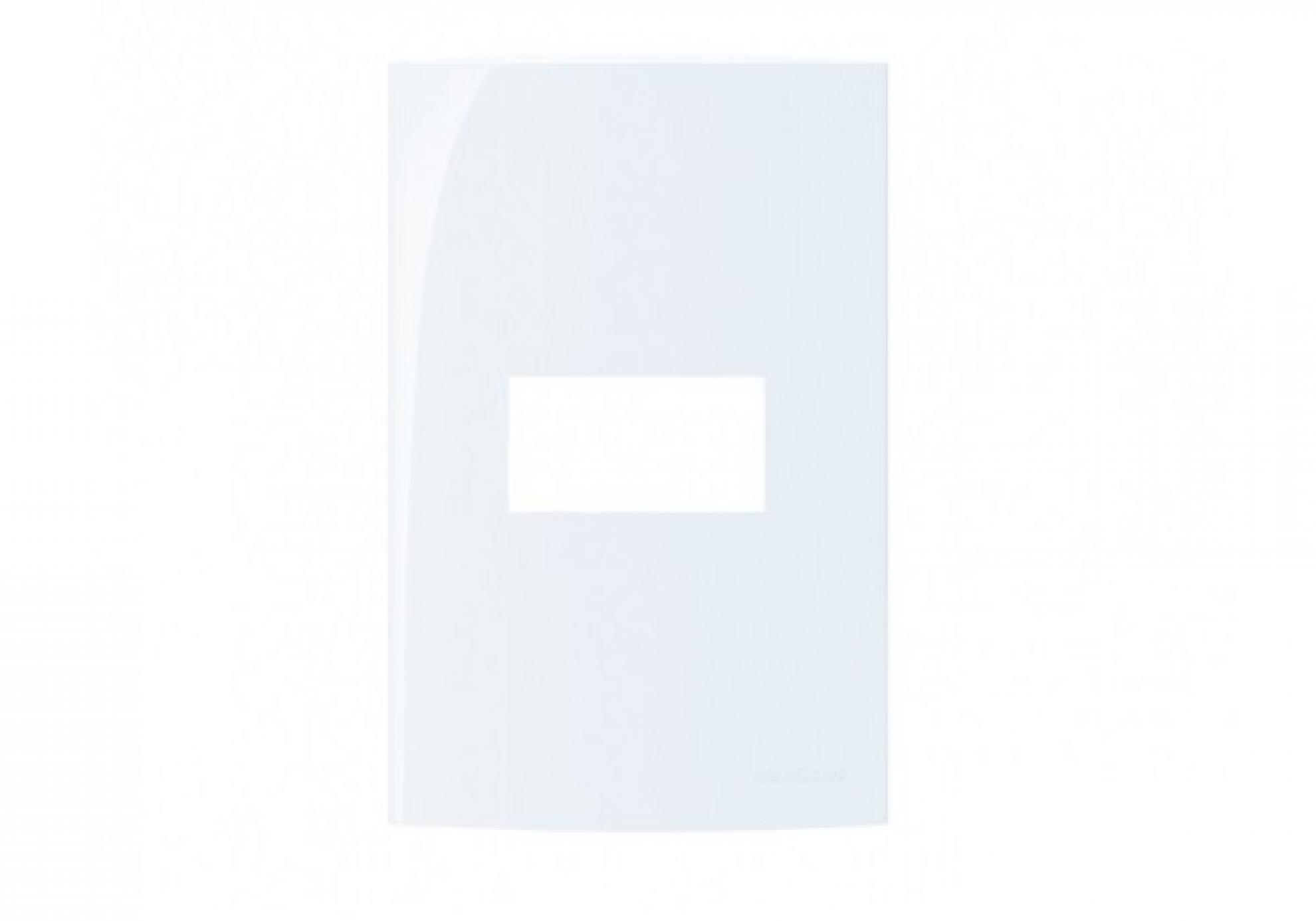 Placa 4X2 1 Posto - HORIZONTAL C/SP  Branco