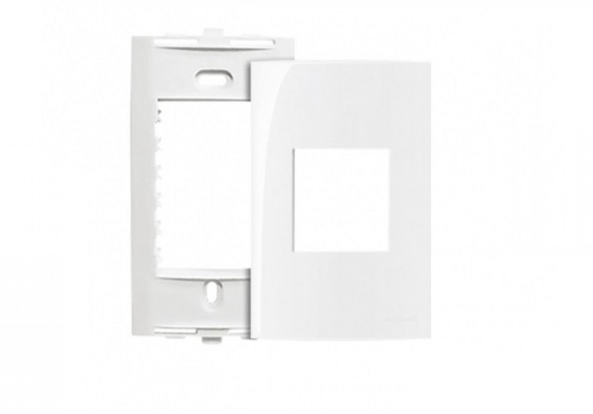 Placa 4X2 2Postos + Suporte -horizontal c/sp  Branco