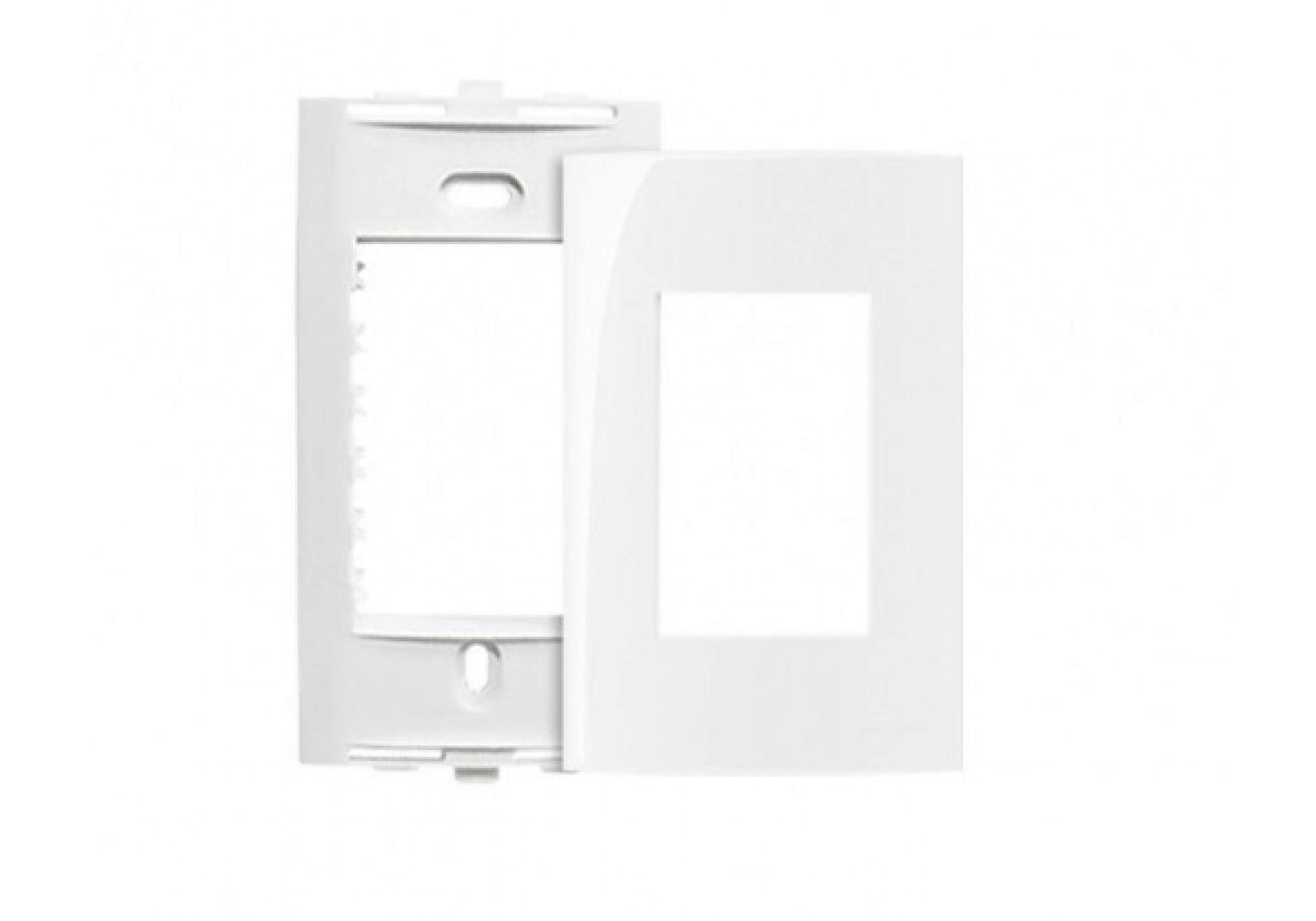 Placa 4X2 3Postos + Suporte - Branco