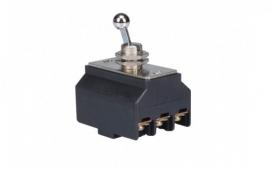 Interruptor Tripolar de Alavanca Liga/Desliga 30A