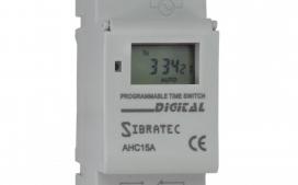 Programador Hor�rio (TIMER) AHC15A Bivolt 110/220V (15A)- Programa��o Semanal - 20 ON / 20 OFF