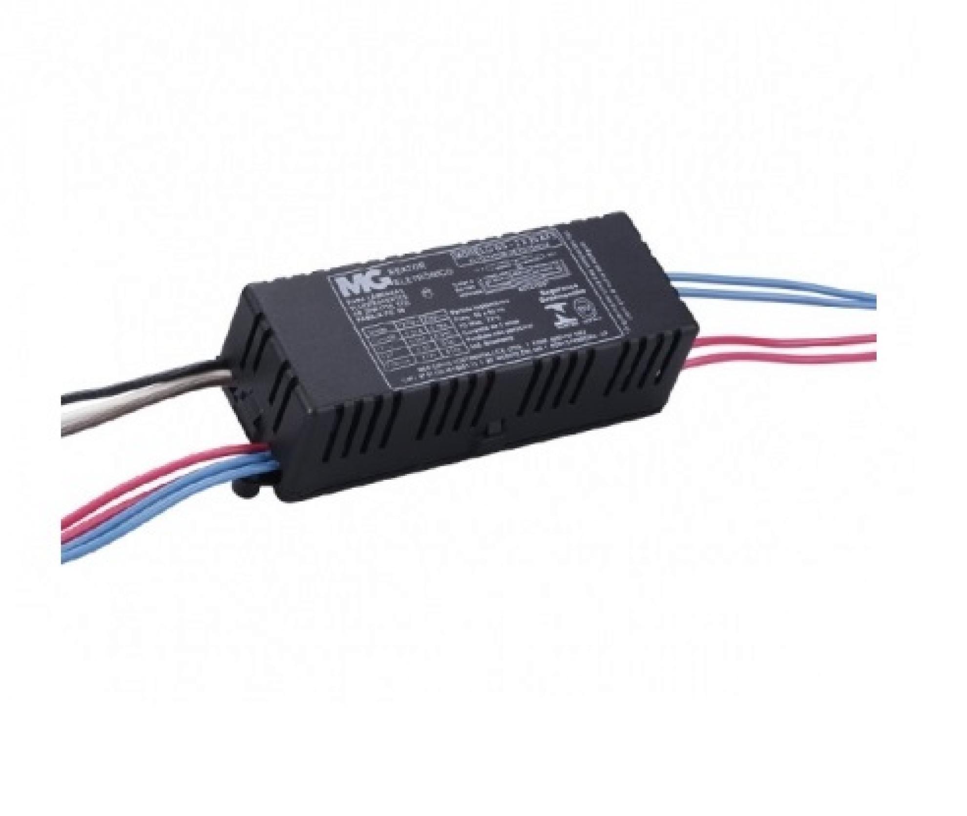 Reator Eletr�nico para 2 L�mpadas de 20w - auto off - Tubulares