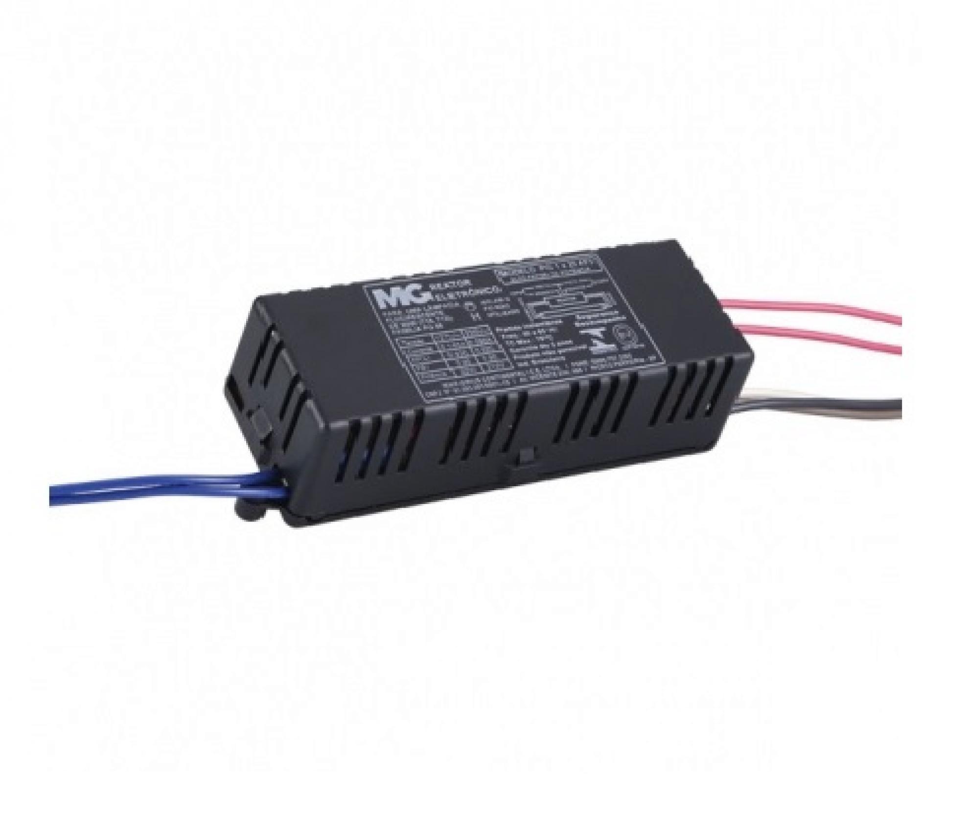 Reator Eletr�nico para 1 L�mpada de 20W bivolt - Alto Fator