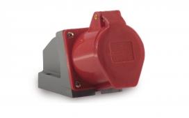 Tomada de Sobrepor Industrial 3P+T 32A - 380/440V