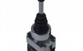Manipulador (JOYSTICK) 2 posi��es 22 mm  Com retorno - 2NA