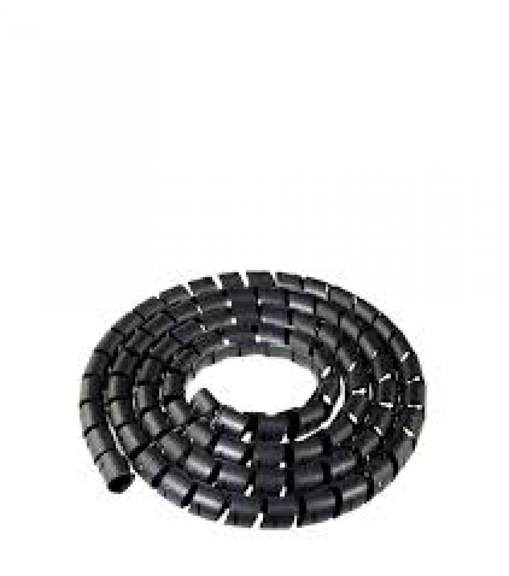 """Espiral Tubo Preto  3/4"""""""