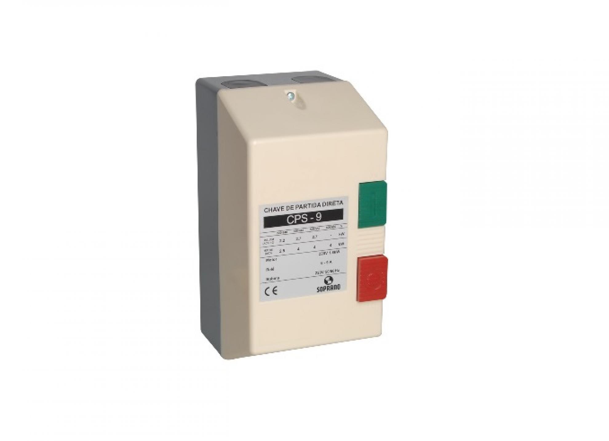Chave de Partida CPS - 09 (7,0-10,0) 220VAC