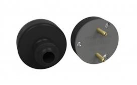 Plugue nylon 2x20A flecha - Com fibra