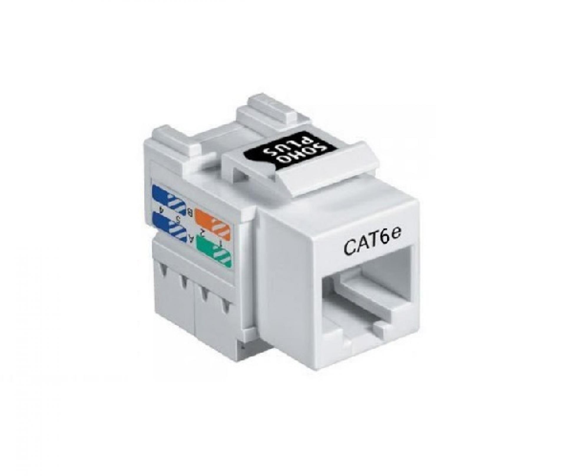Conector RJ45 cat. 6E - Femea