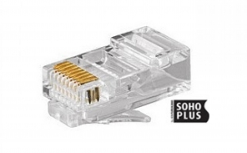 Conector RJ45 cat. 5E Soho Plus - Macho