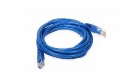 Patch cord U/UTP cat. 5E CM-T568A - 1,5m Azul