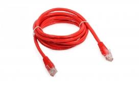 Patch cord U/UTP cat. 5E CM-T568A - 1,5m Vermelho