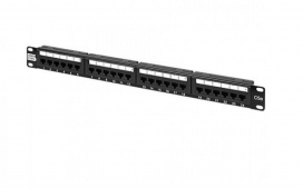 Patch panel cat5E T568A/B - 24P