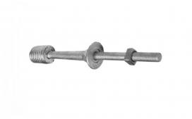 Pino isolador rosca externa M-16 - 15KV