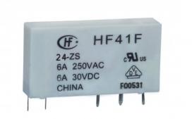 Rele Acoplador HF41F P/24VCC