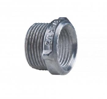 Bucha Redu��o com rosca Aluminio 1 Polegada