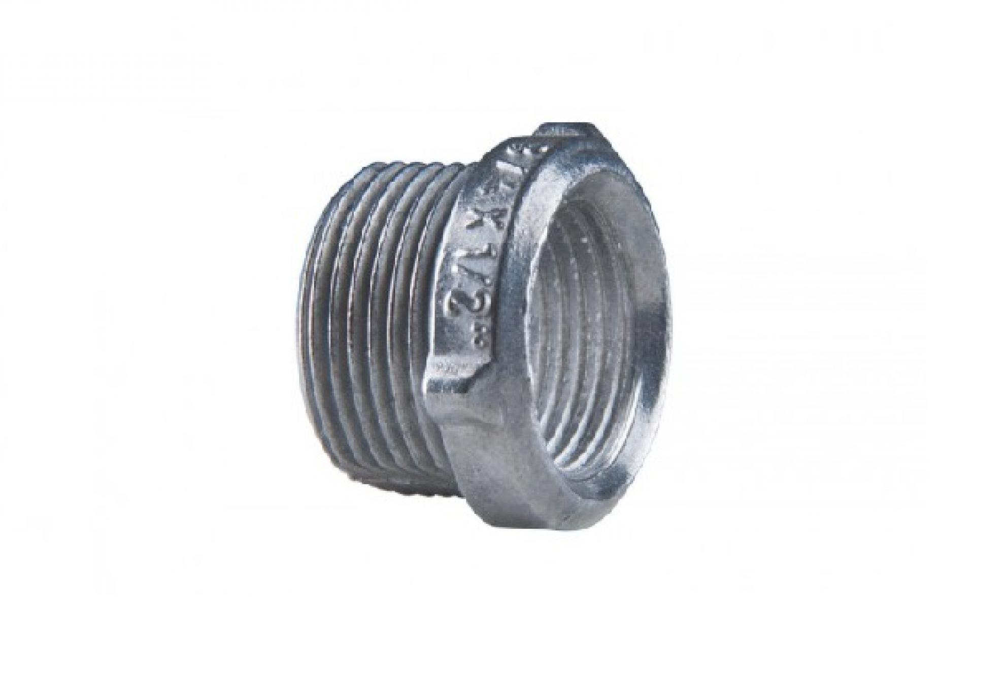 Bucha Redu��o com rosca Aluminio 2 Polegada