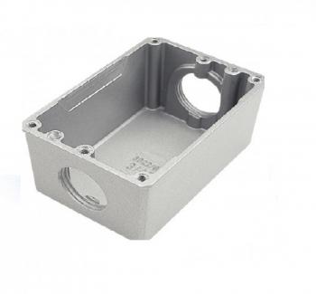 Caixa Piso Aluminio 4X2 Baixa 3/4
