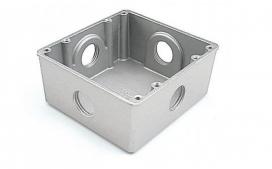Caixa Piso Aluminio 4X4 Baixa 3/4