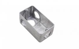 Condulete Aluminio Multiplo L 3/4 sem tampa