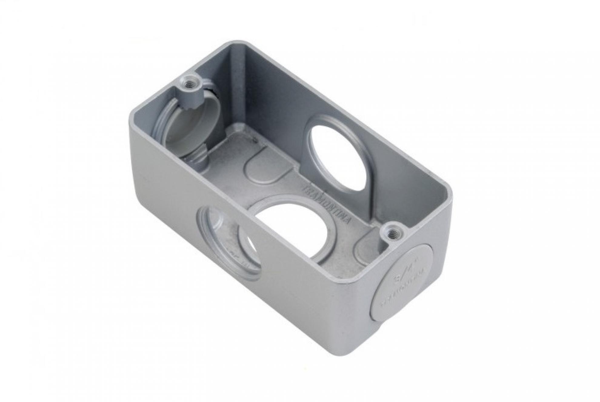 Condulete Aluminio Multiplo X 3/4 sem tampa