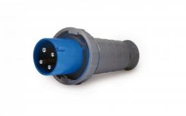 Plugue industrial 3P+T 63A - 220/240V