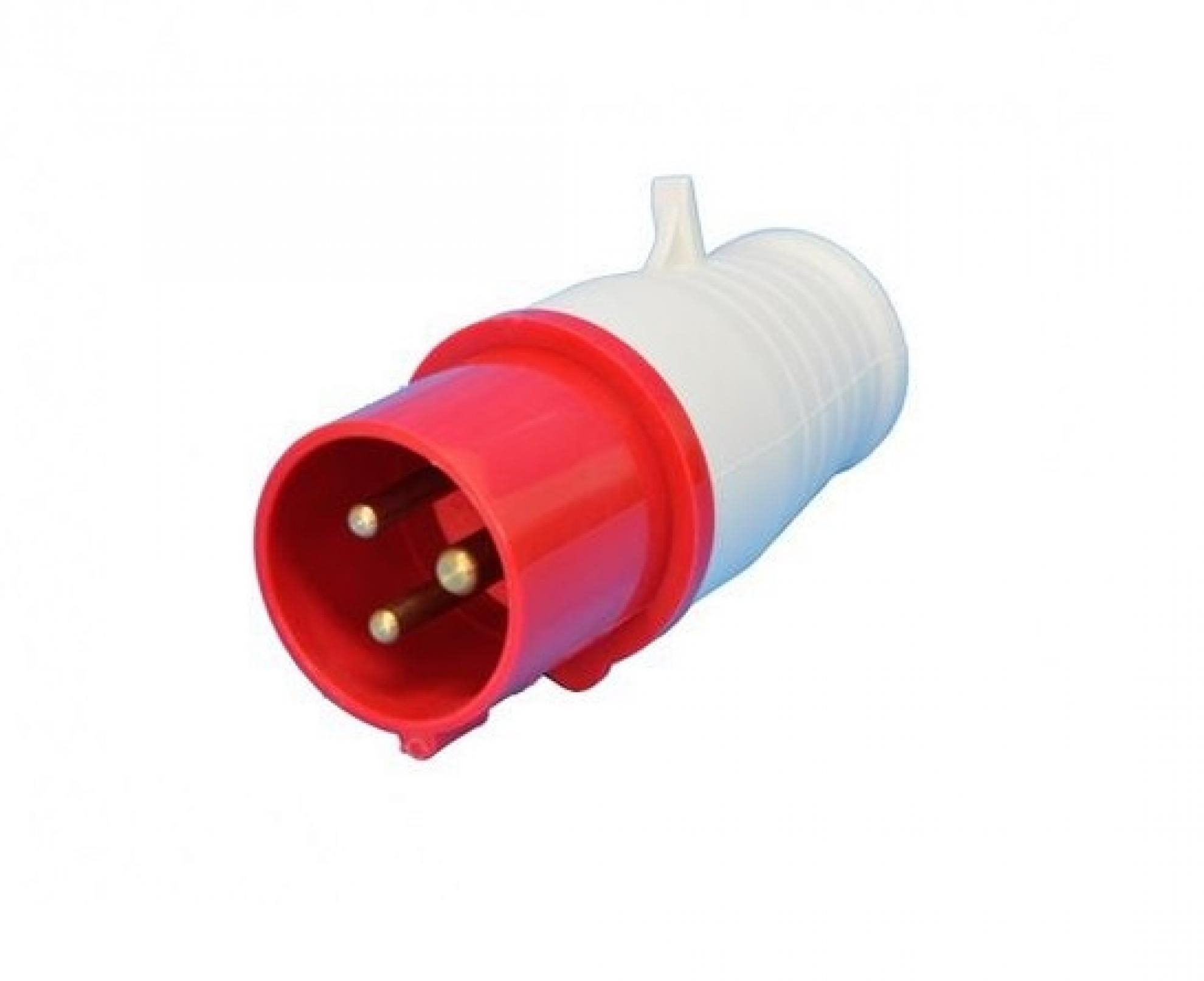 Plugue industrial 3P+T+N 16A - 380/440V
