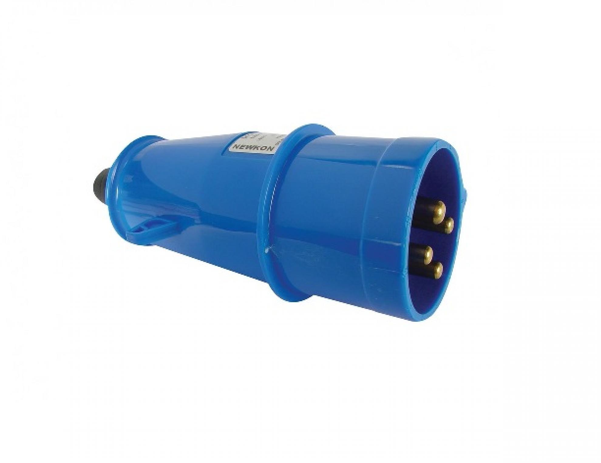 Plugue industrial 3P+T+N 63A - 220/240V