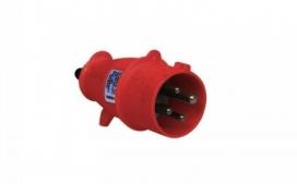 Plugue industrial 3P+T+N 63A - 380/440V