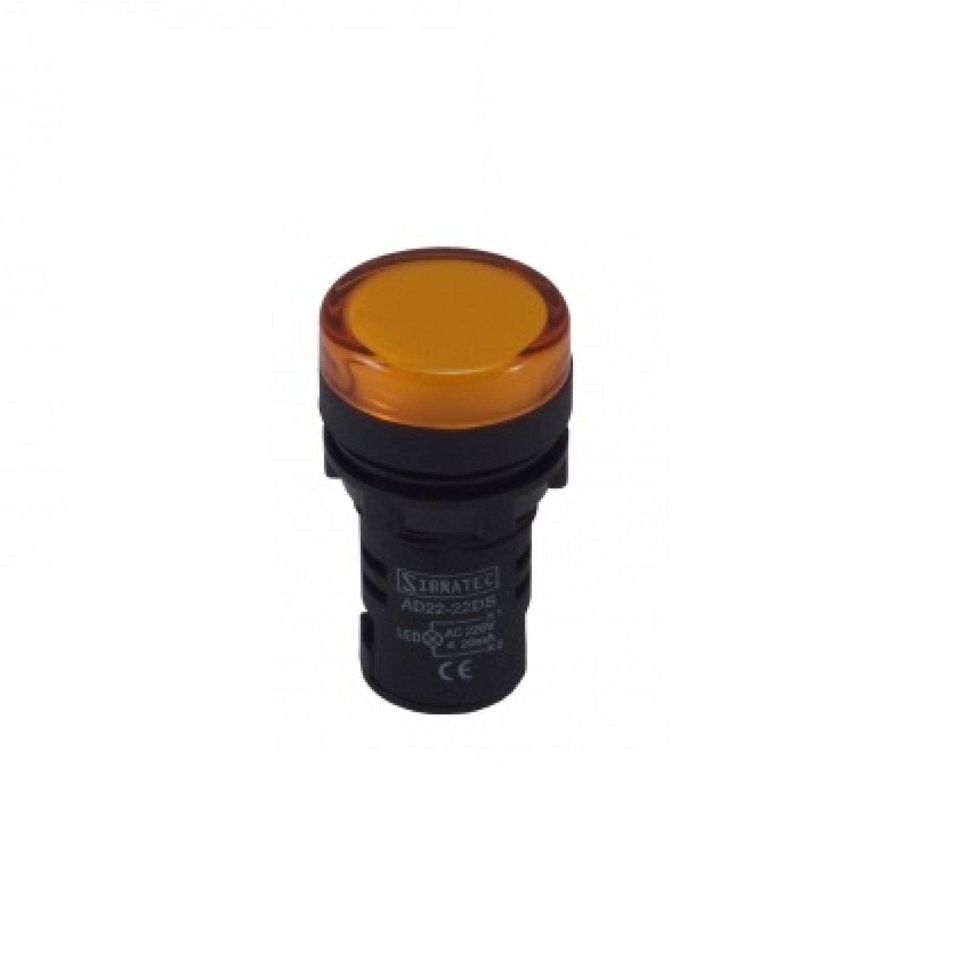 Sinaleiro LED - 22MM AM 110/220v AMPL4Y