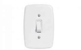 Interruptor de 1 tecla 4x2- Simples