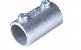"Luva de emenda Lisa 1"" - Aluminio"