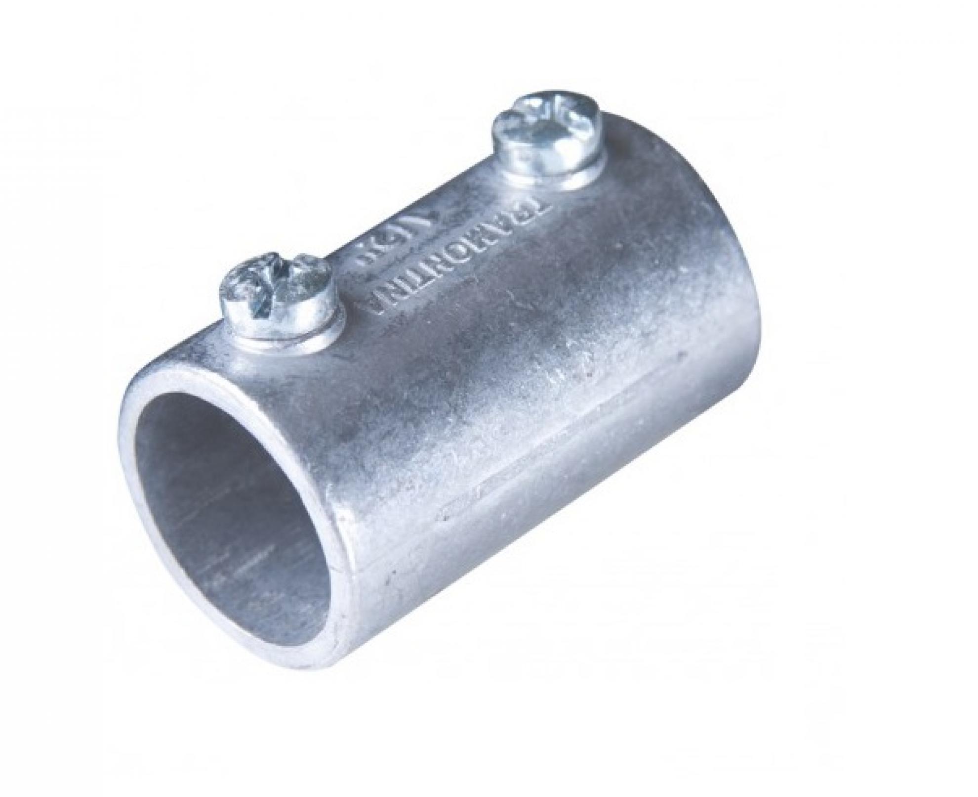 "Luva de emenda Lisa 2"" Aluminio- Flexor"