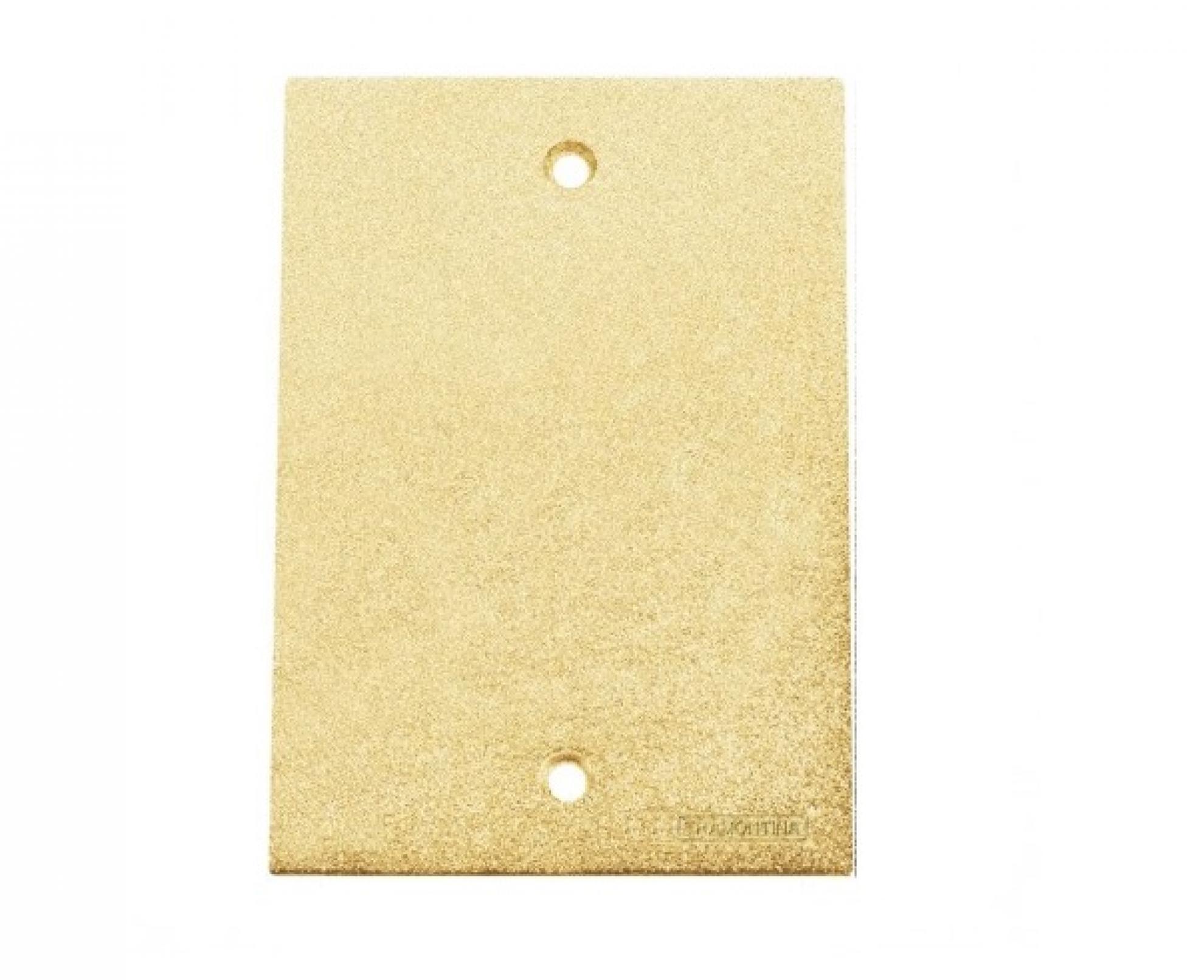 Tampa cega piso 4x2- Dourado