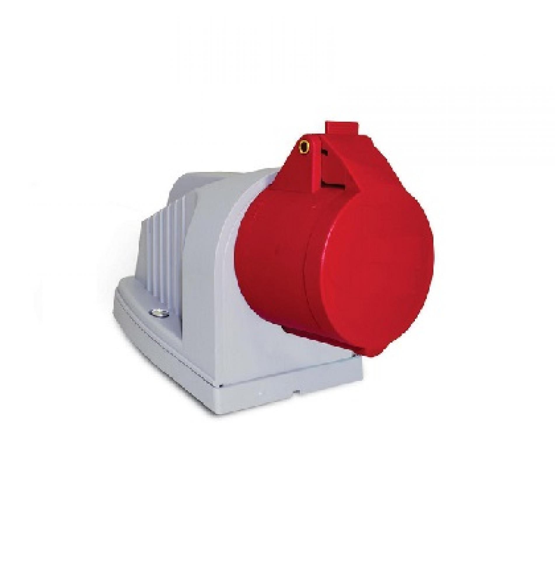 Tomada industrial sobrepor 3P+T+N 63A - 380/440V