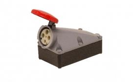 Tomada industrial sobrepor 3P+T+N 125A - 380/440V