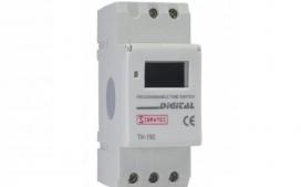 Timer Digital Trilho DIN AHC15A 110/220V
