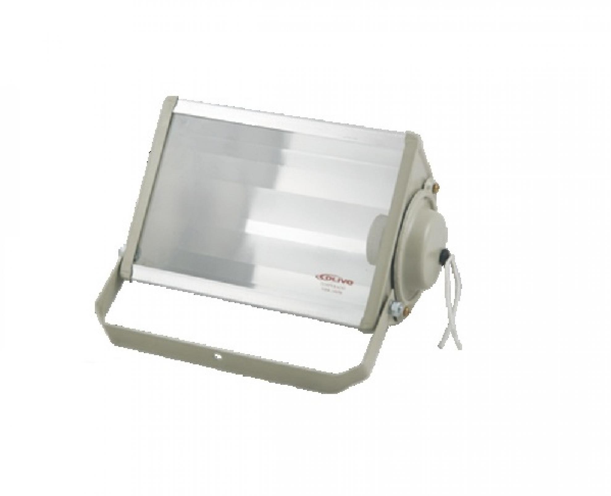 Refletor retangular 250W - Bege E-27