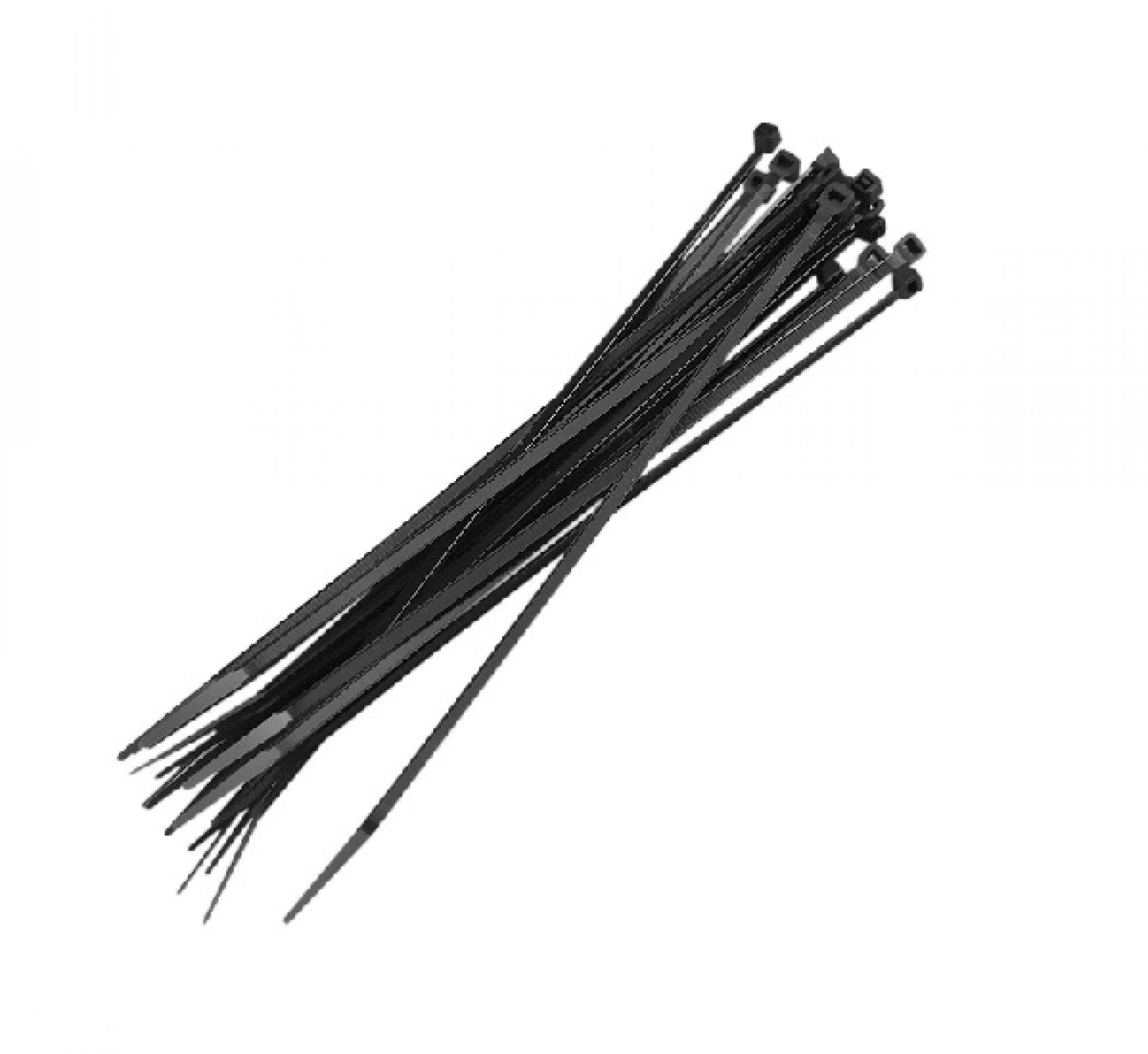 Abra�adeira nylon 200x4  5MM - Preto