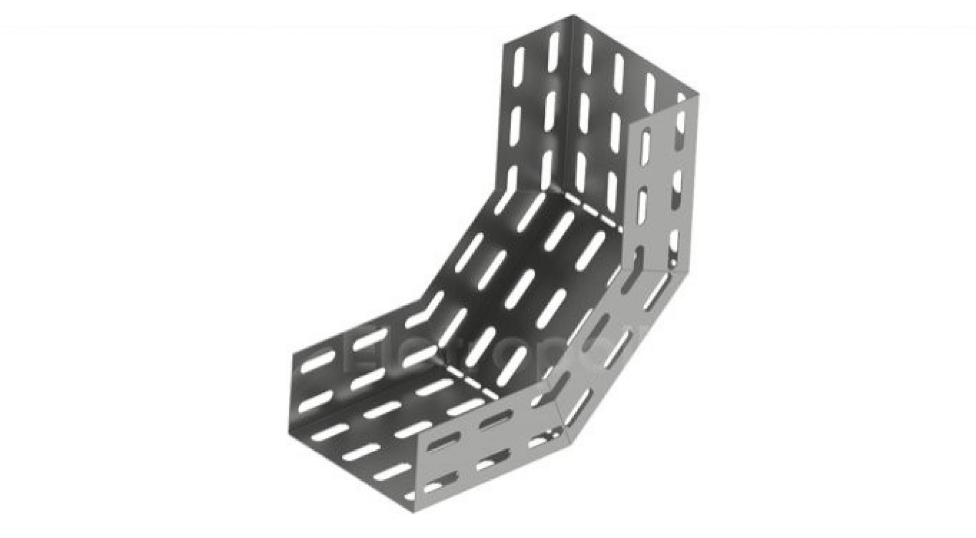 Curva Vertical Interna Perfurada 50x50