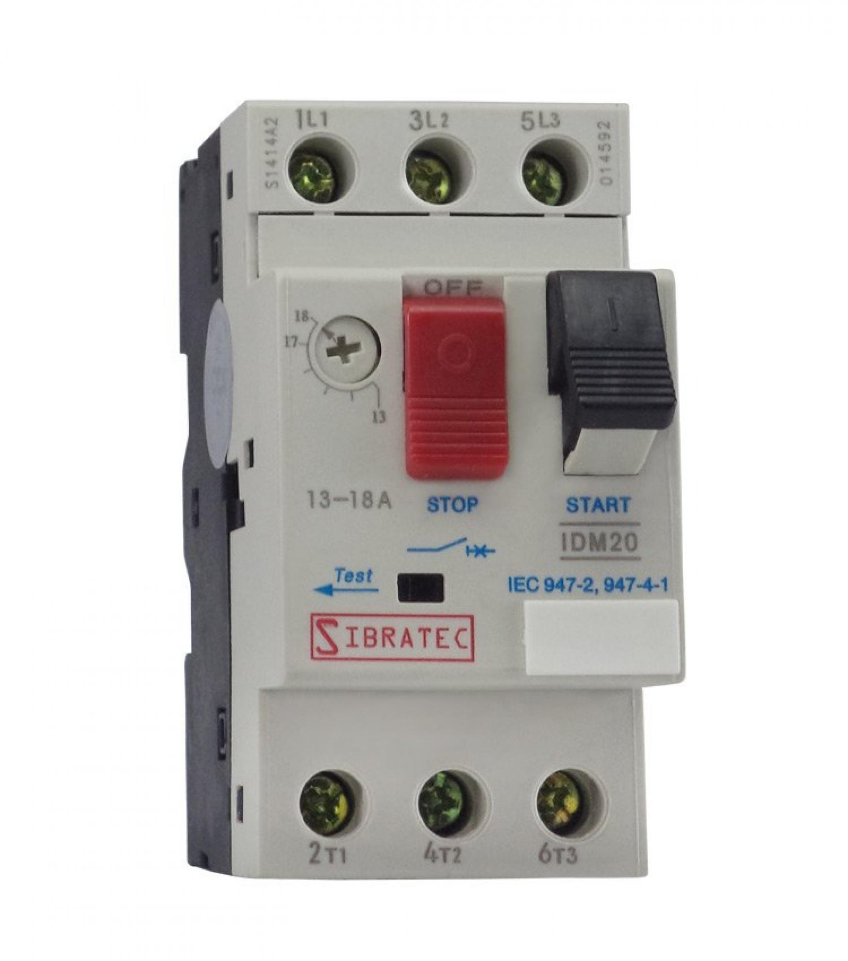 Disjuntor Motor IDM14-GV2 Ajuste 6~10A