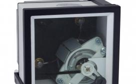 Amper�metro Anal�gico Sem Escala 72x72mm (X/5A)