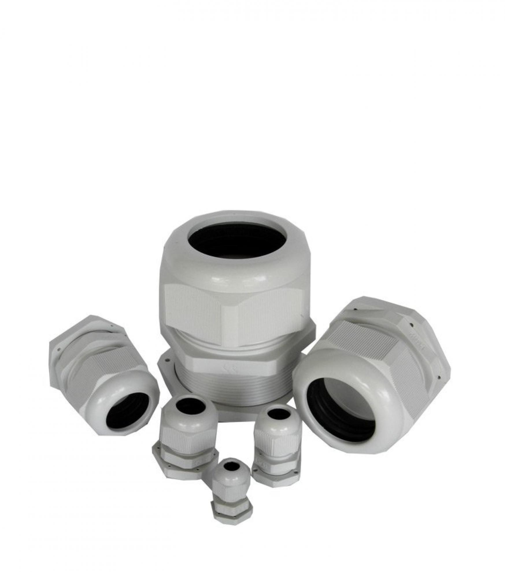 """PRESA CABO PVC CINZA 1.1/4"""""""