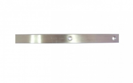 """Barra chata de aluminio perfurada - 7/8"""" - 1/8"""""""