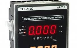 Controlador Fator de Pot�ncia APFC6 - 6 Sa�das - Alimenta��o Auxiliar 80~260Vca