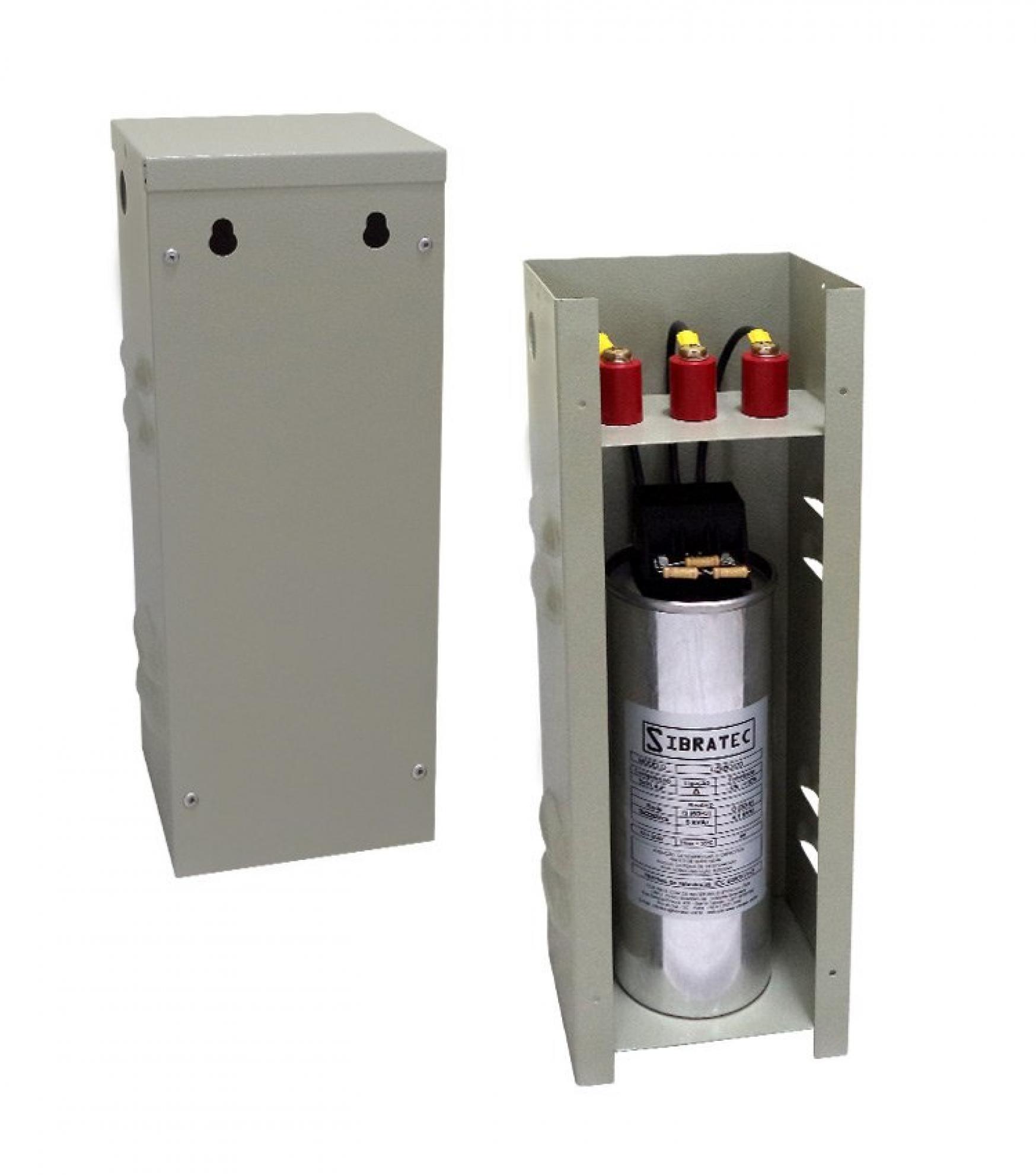 Capacitor Trifasico Corre�ao de F P 3,33KVAR 380v cs3,33338